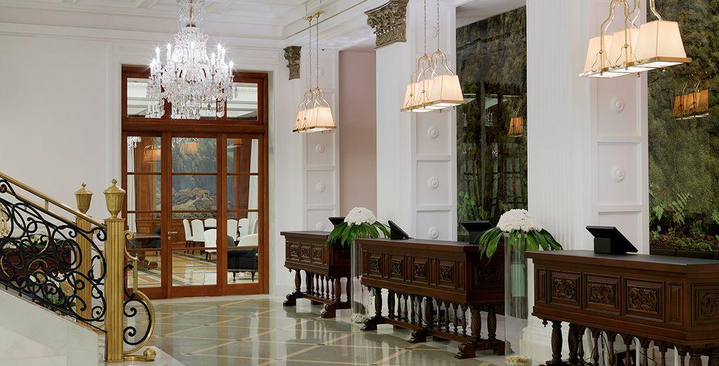 Luxe in de details van het hotel