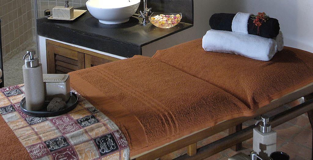 Laat u heerlijk verwennen met een massage