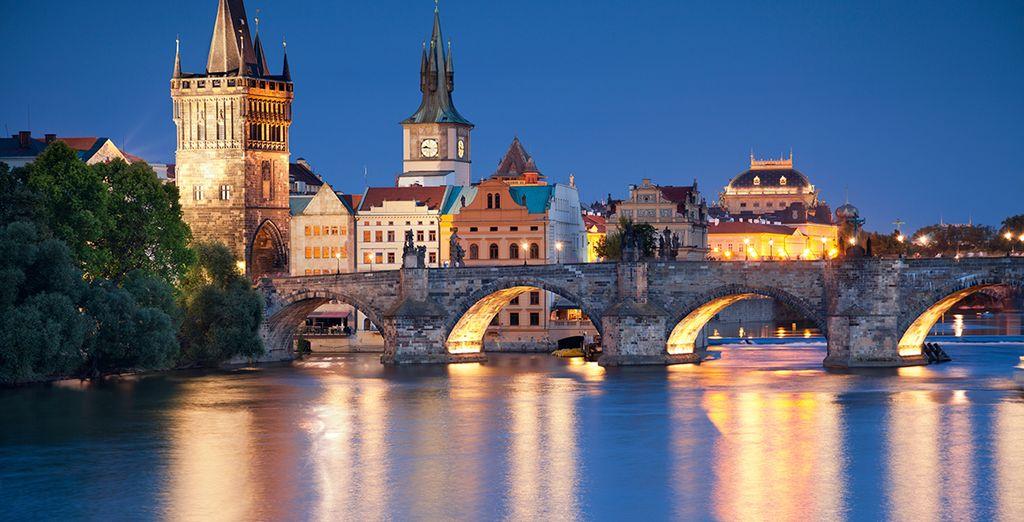 Wij wensen u een onvergetelijk verblijf in Praag!