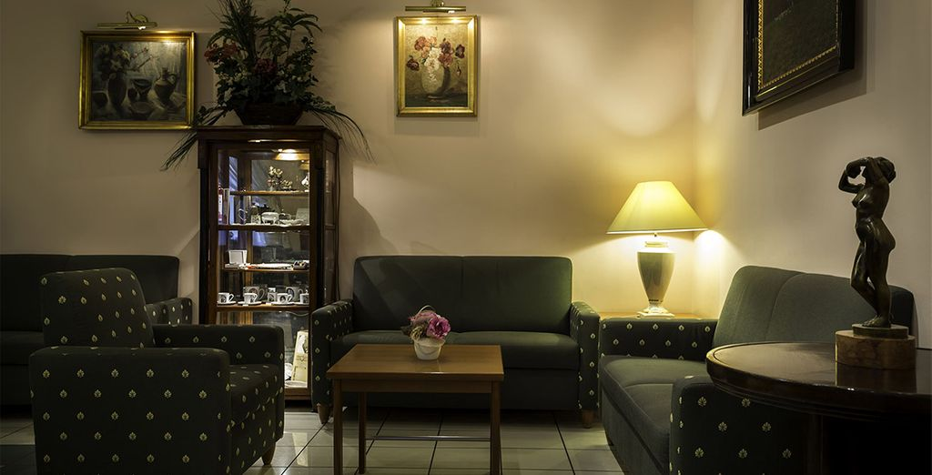 Een aangenaam hotel met gezellige ruimtes
