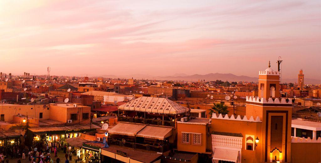 Bezoek het Jemaa El Fna plein