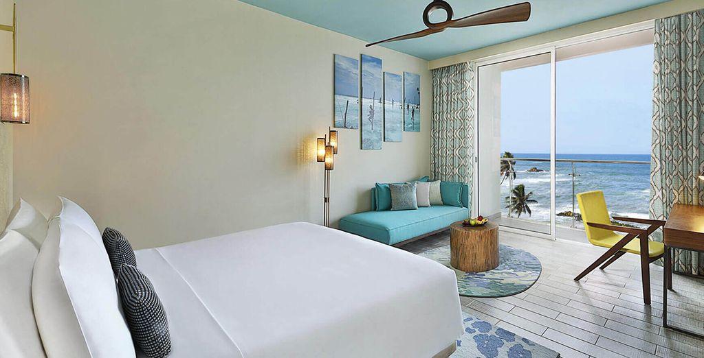 Waar u verblijft in een Deluxe Ocean View Kamer