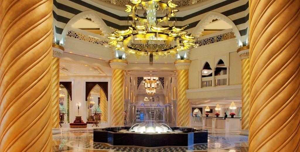 In het luxueus Jumeirah Zabeel Saray 5*