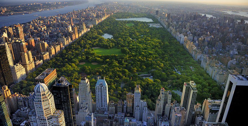 Waar u verblijft in de buurt van Central Park