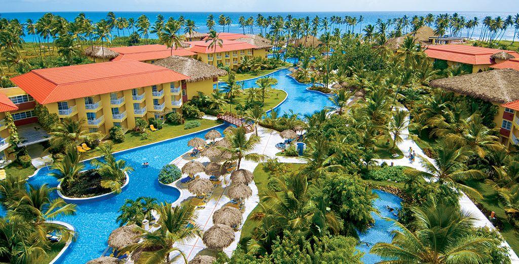 In het Hotel Dreams Palm Beach Punta Cana