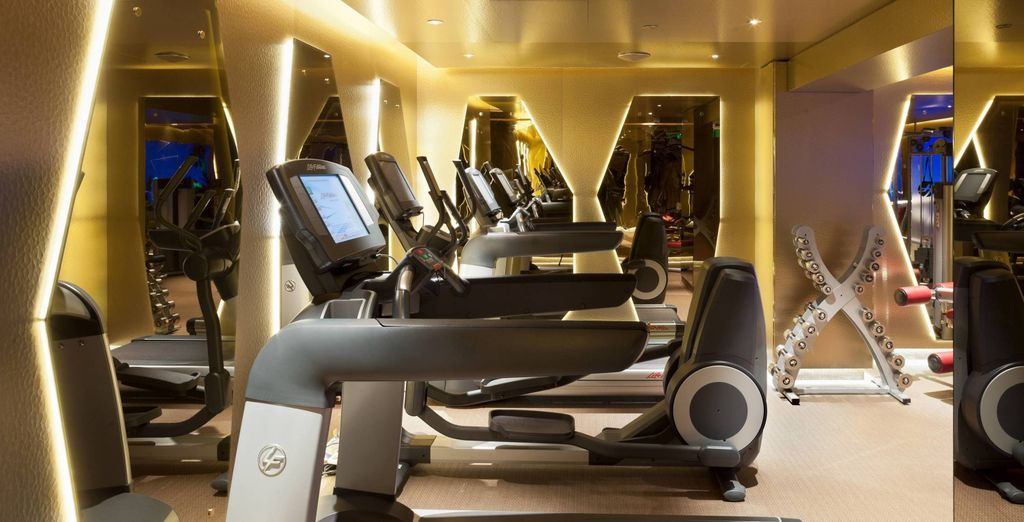 Make the most of the great gym facilities