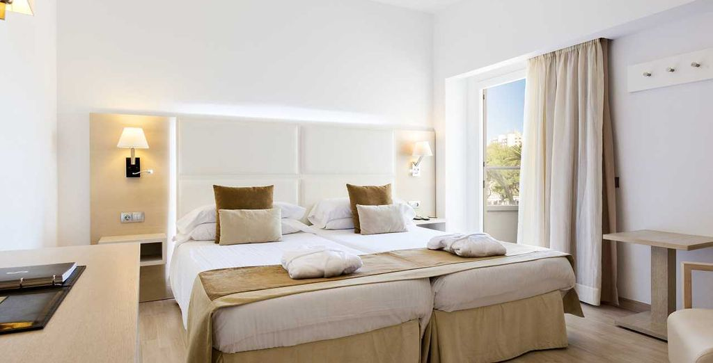 Stay in the Double Room with Garden View