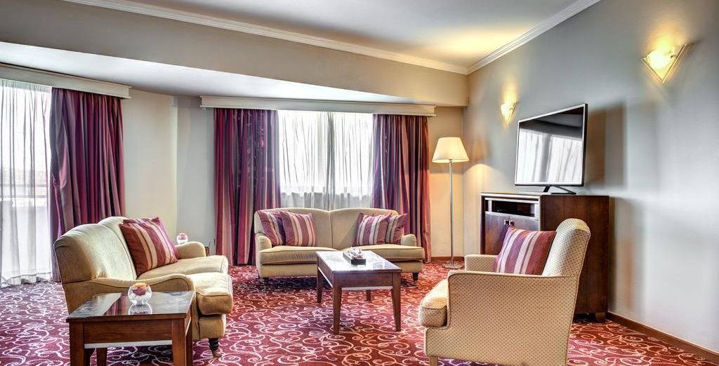The Executive Suite is perfect for entertaining
