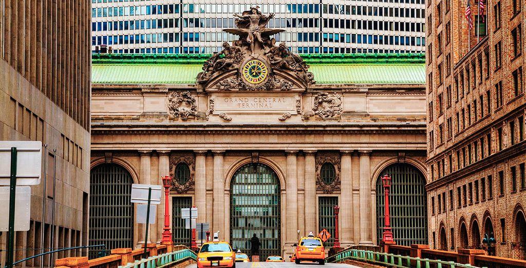 Seek out beautiful buildings