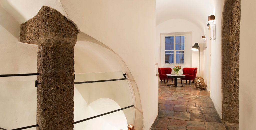 Nestled in the heart of a traditional Salzburg residence