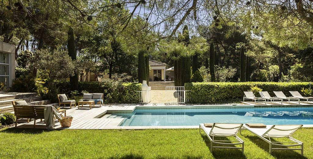A private pool villa in the idyllic South of France