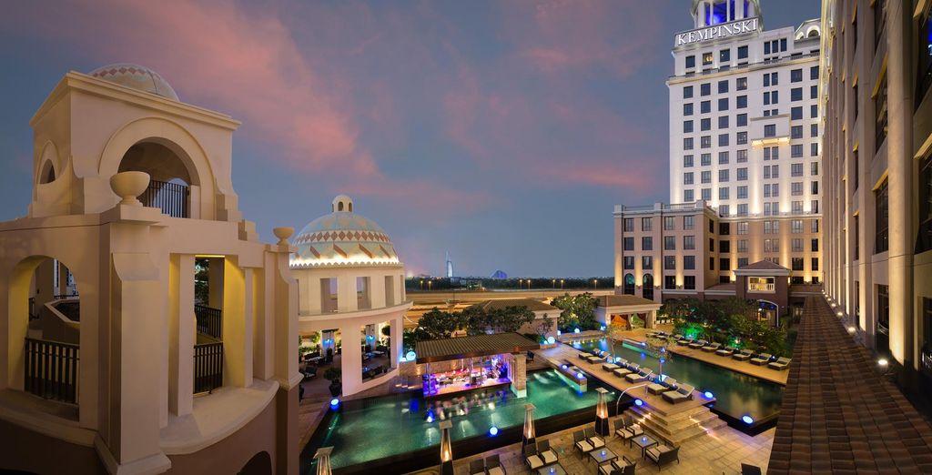 The Kempinski Hotel - Mall of the Emirates awaits you in the heart of Dubai