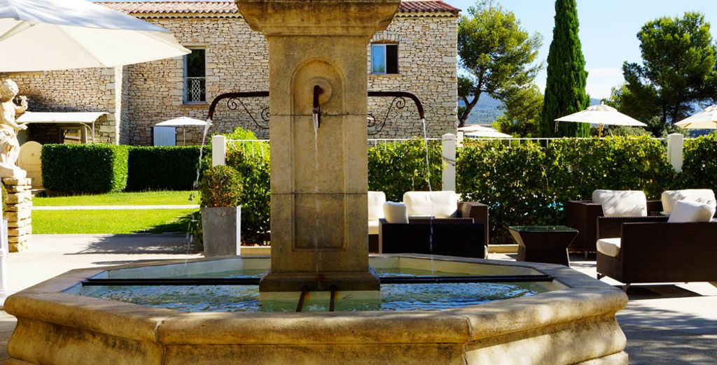 With typical Provence charm