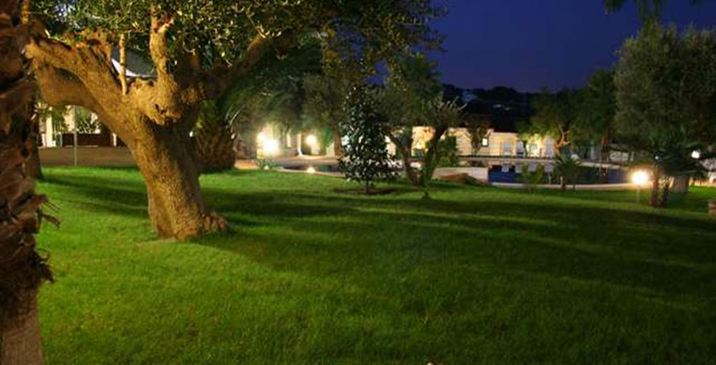 Immersed in the olive groves of Puglia