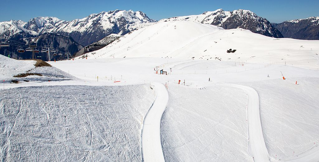 Located in the Alpe d'Huez