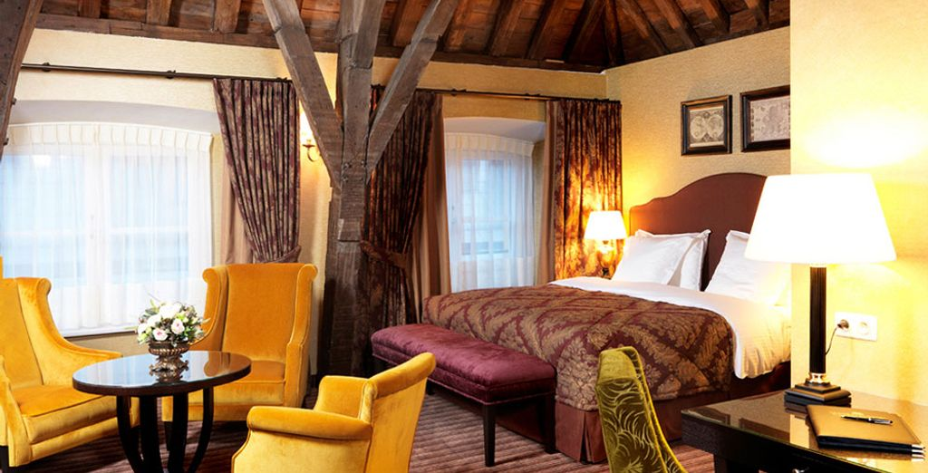 Fall in love with the Deluxe Room