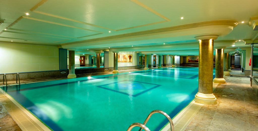 Take a dip in the refreshing indoor pool