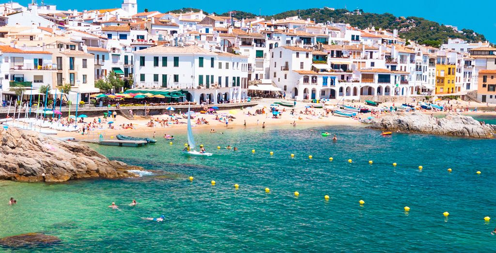 Visit the Costa Brava's seaside towns such as Palafrugell