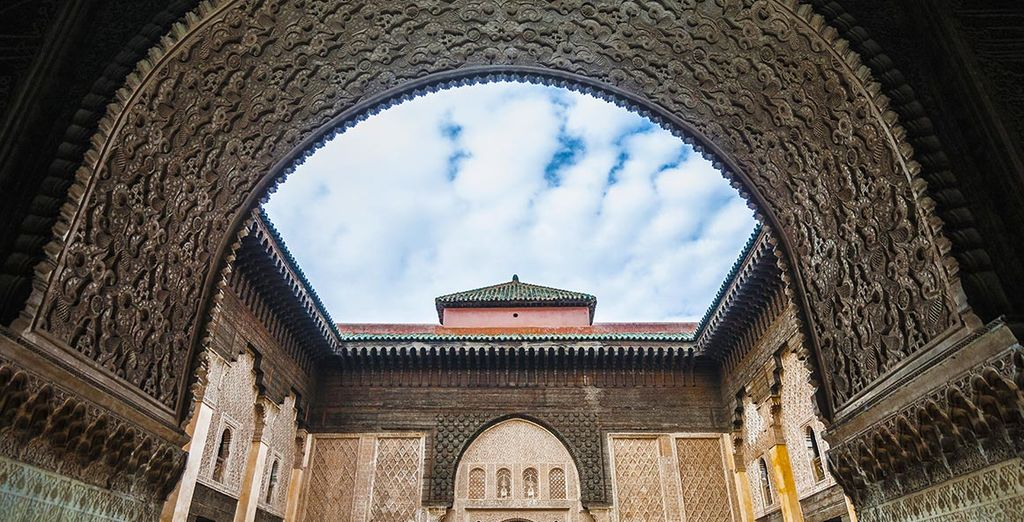 Wander around the streets of the Medina to discover its treasures