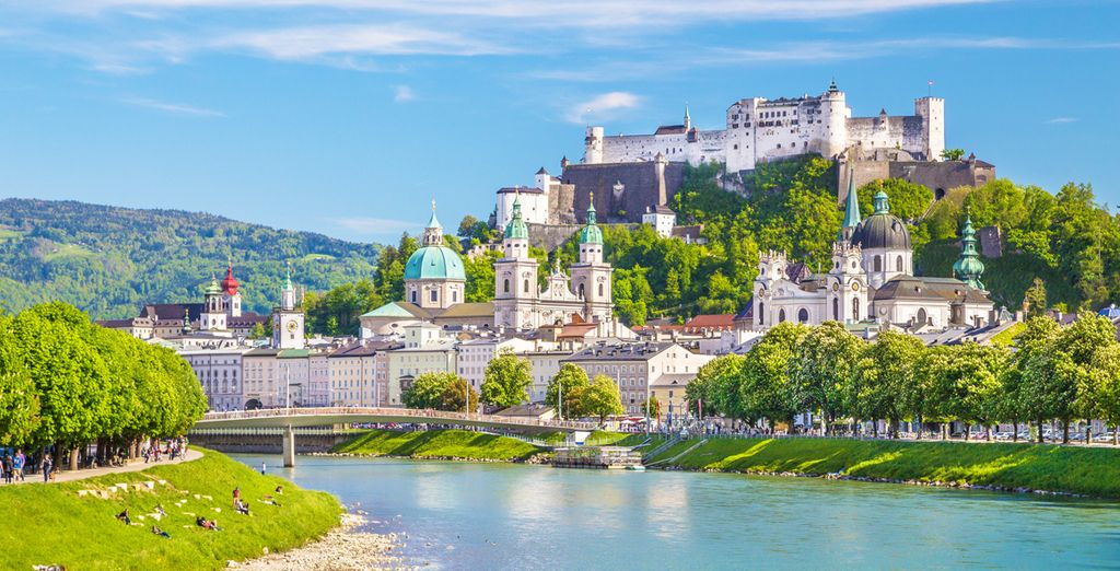 Discover the famous and beautiful city of Salzburg