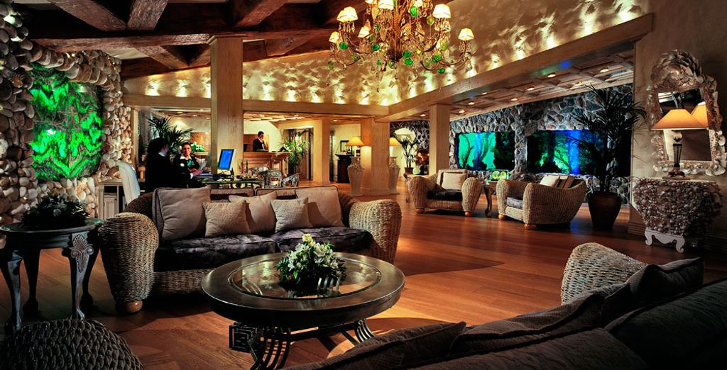 Relax in the hotel lounges