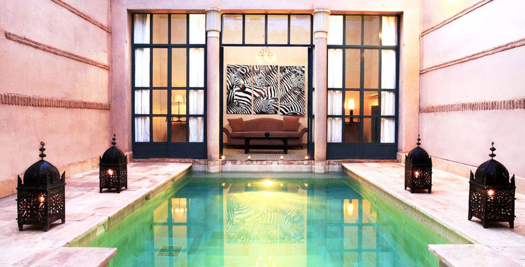 Treat yourself to a private pool...