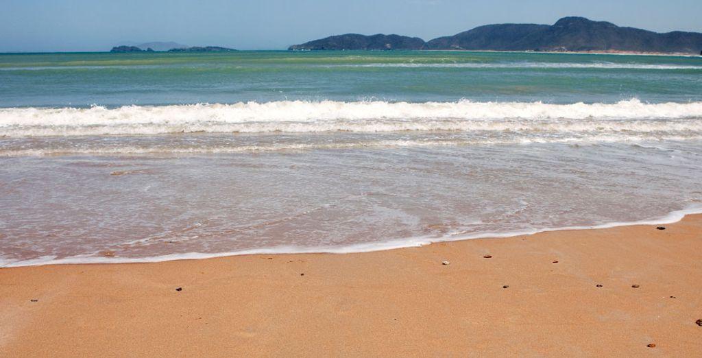 Visit the stunning surrounding beaches