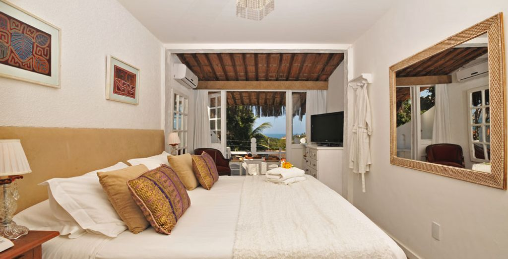 Stay in the Double Room - Sea View