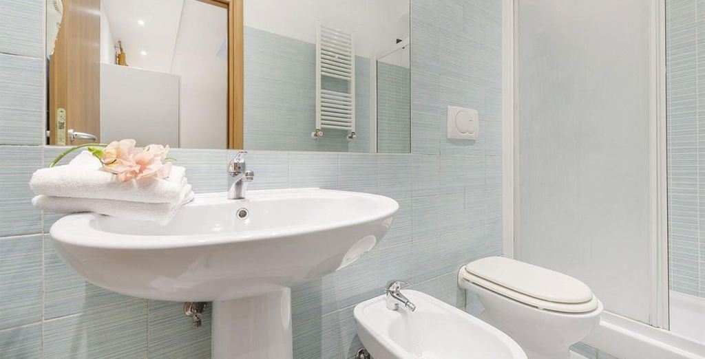Apartment 6: With a 3rd modern bathroom