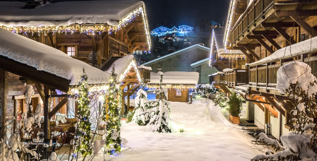 Nestled in the beautiful French village of Megève