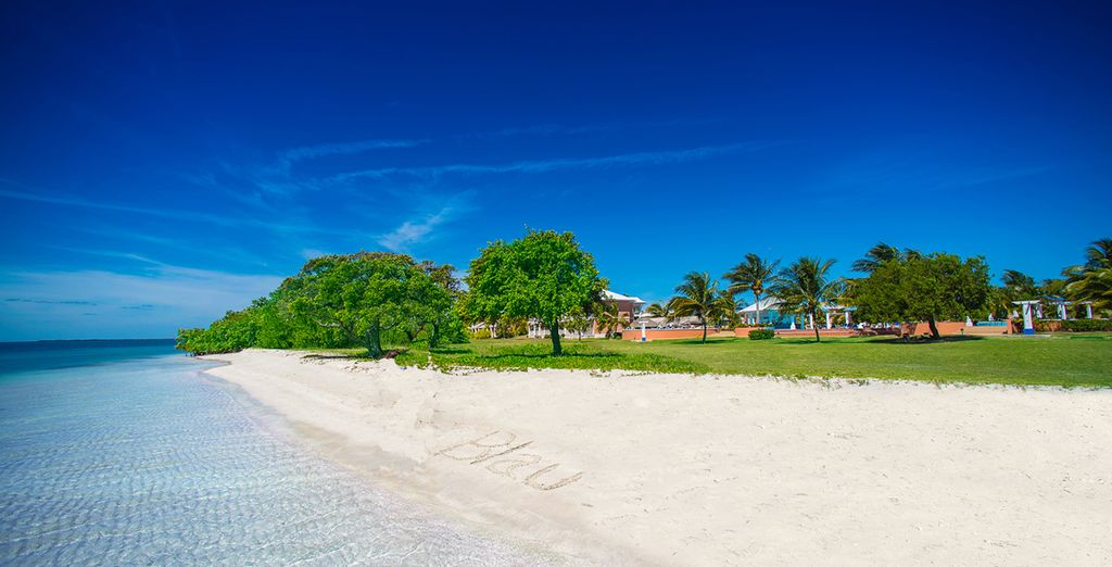Spend your days reclining on the pristine beaches