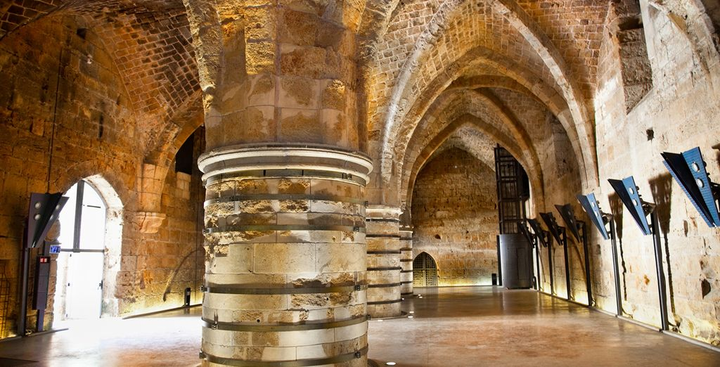 Walk in the footsteps of the Knights Templar