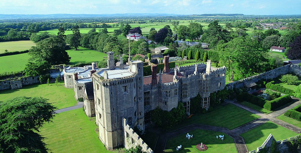 Stay at the breathtaking Thornbury Castle