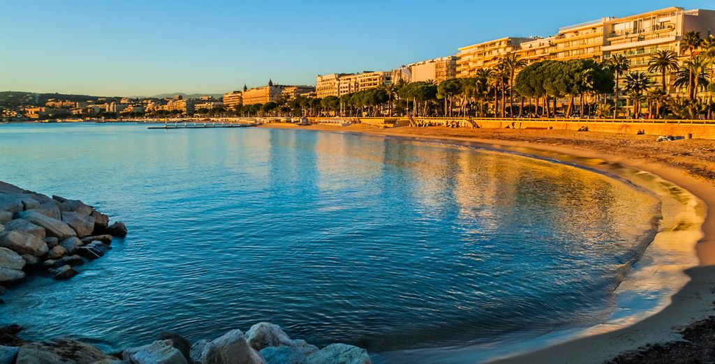 If you choose to add car hire the chic destinations of cote d'azur are easily reachable