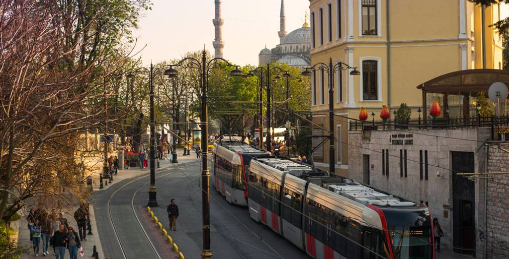 Ideally located close to the Blue Mosque and Hagia Sophia