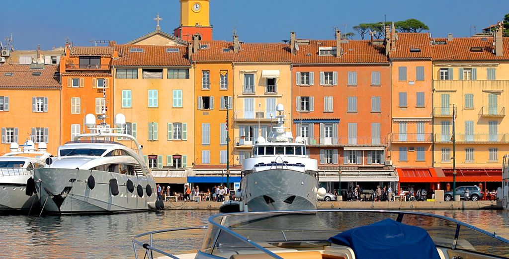 And the authentic charm of Saint-Tropez