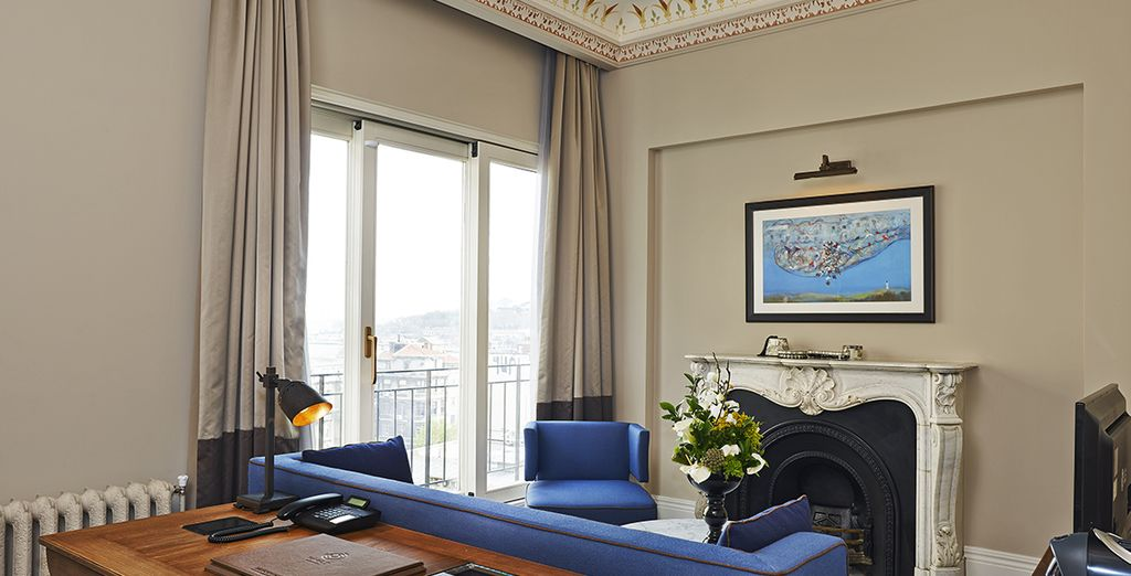 The Executive Suite boasts an elegant style