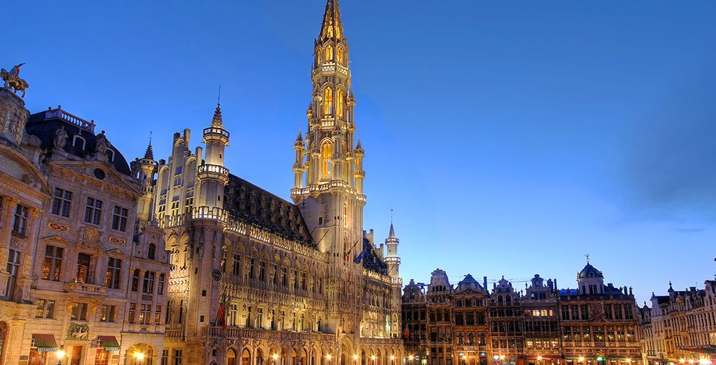 Enjoy a pleasant stay in the Belgian capital