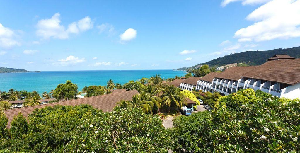 Amongst lush nature gazing out to the sea - Diamond Cliff Resort & Spa 4* Phuket