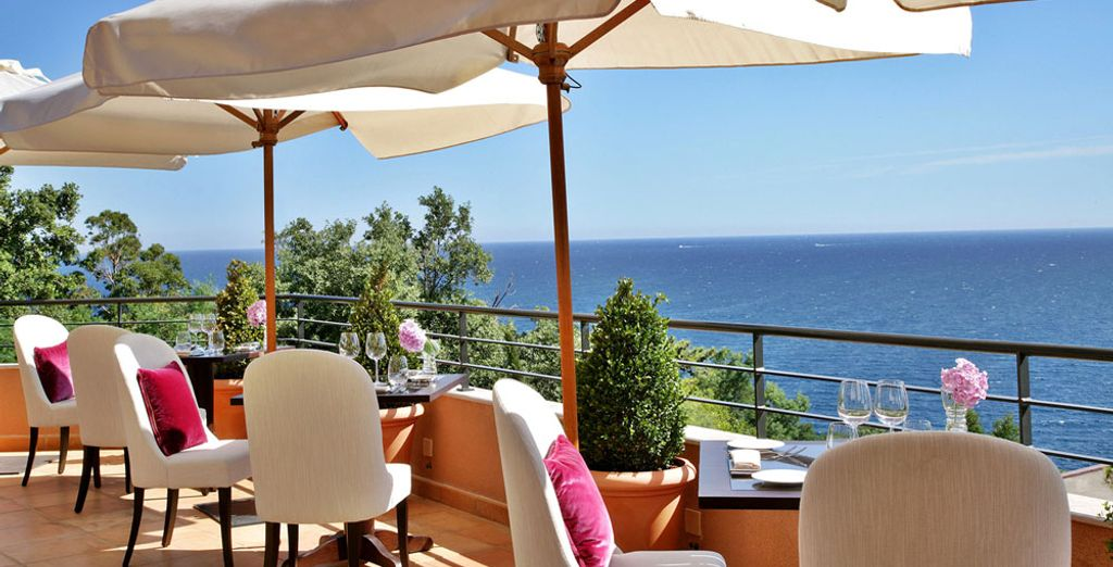 Keeping the brilliant Mediterranean in view