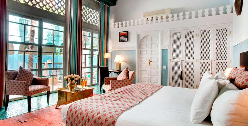 Treat yourself to the Sultana Room
