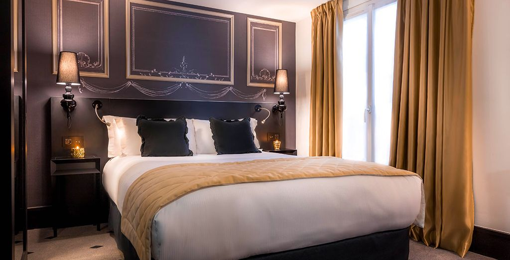 Rooms are elegant and comfortable,