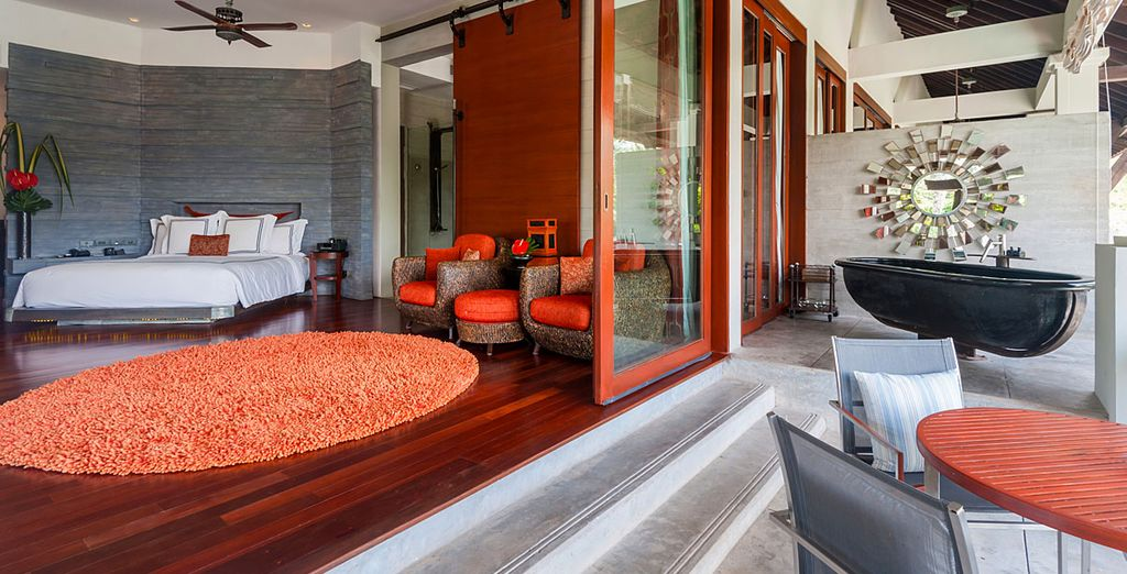 An inviting and contemporary design