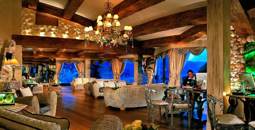 Check in to a comfortable and elegant establishment