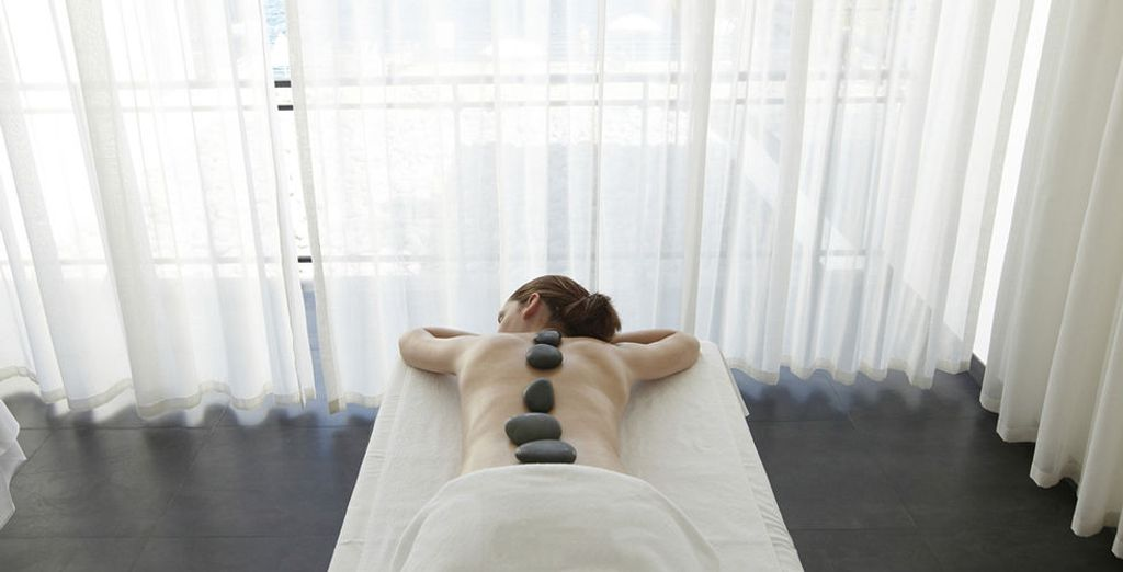 Indulge in a massage or treatment