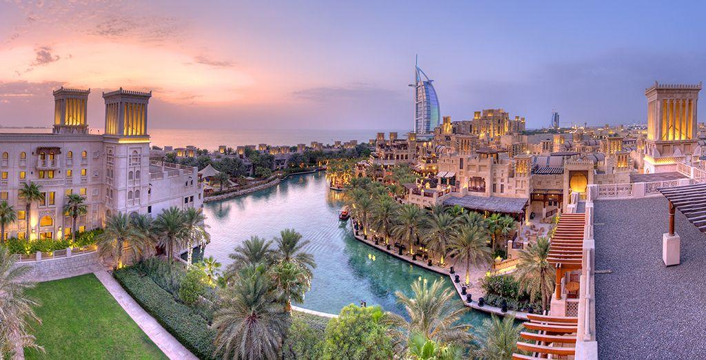 Before heading out to explore Dubai
