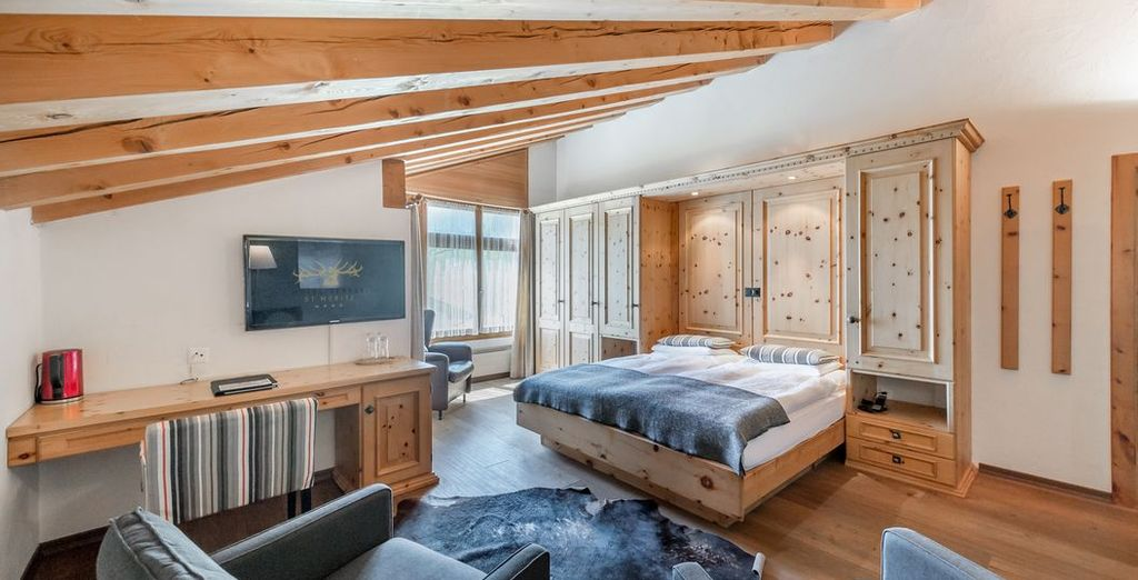 Boutique Hotel Cervus 4* - ski in switzerland