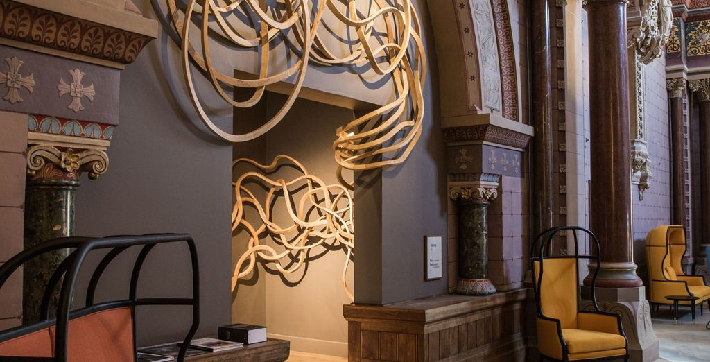 Where each room is an amazing mix of religious heritage and contemporary details