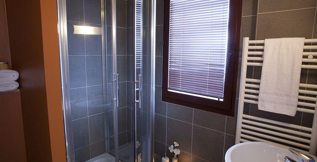 Enjoy the comfort of your bathroom