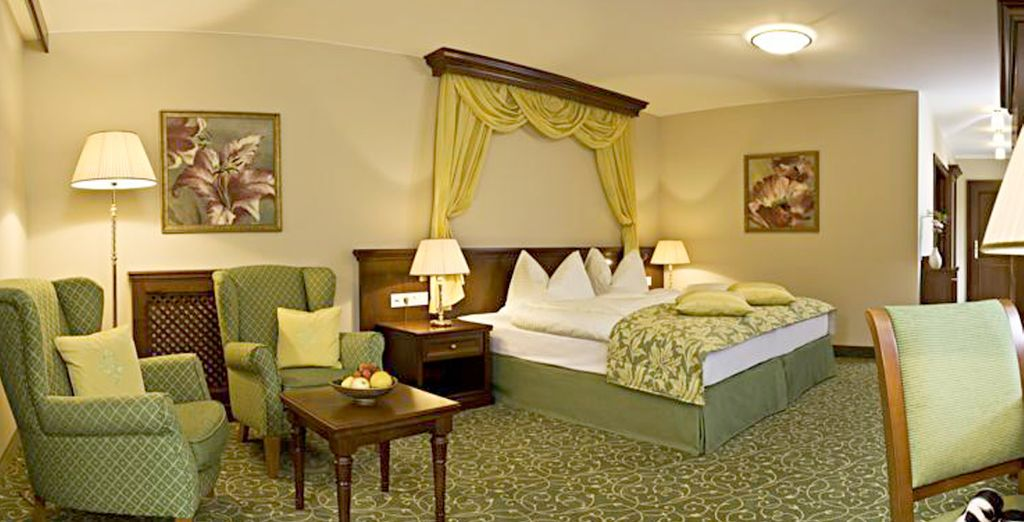 Our members will stay in a spacious Superior Suite